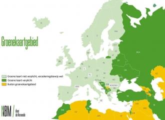 De groene kaart mee op reis?
